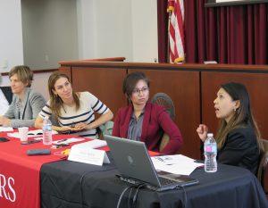 Panel 2: MJ Durkee, Ayelet Berman, Kish Parella and Helen Medina